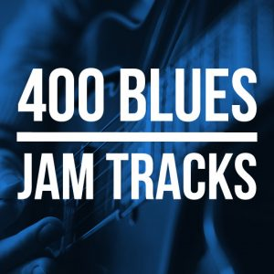 400 Blues Jam Tracks