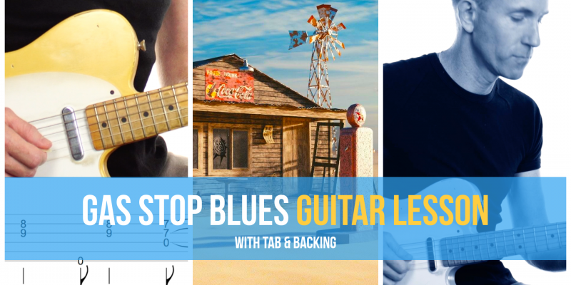 Gas Stop Blues Guitar Lesson